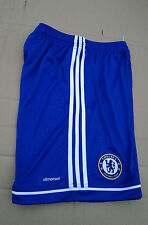 brand new Boys BLUE ADIDAS Chelsea Football shorts/bottoms size 14 years