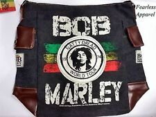 Bob Marley Zion Rootswear Natty Dread Rasta Messenger Shoulder Satchel Bag