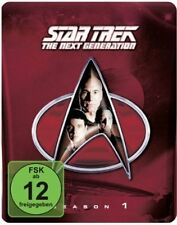 STAR TREK: THE NEXT GENERATION, Season 1 (6 Blu-ray Discs, Steelbook + Pin) NEU