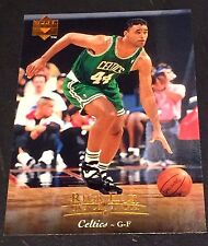 RICK FOX 1995-96 Upper Deck ERROR Double Name Logo RARE Card #35 BOSTON CELTICS