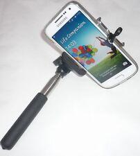 Selfie Stick Stab Teleskop Stange Ausziehbarer Handy Smartphone Kamera Halter 60