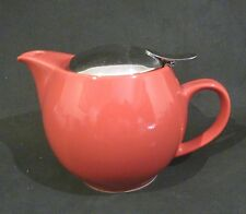 BEEHOUSE TEAPOT/TEA POT INFUSER BASKET, RED,2 - 3 CUPS, JAPAN