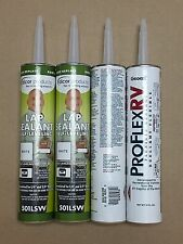 CP #19: 2 Tubes of Dicor 501LSW Self-Leveling & 2 Tubes of ProFlex RV Clear