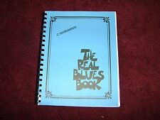 Hal Leonard THE REAL BLUES BOOK C Instruments Fake Book