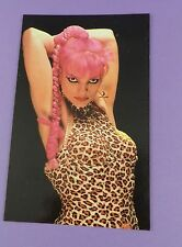 Nina Hagen - Punk -  Original Vintage Postcard from Unused Stock