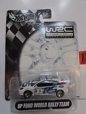 HOT WHEELS 2003 RACING WRC WORLD RALLY CHAMIONSHIP - BP FORD WORLD RALLY TEAM