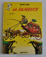 LUCKY LUKE: La Diligence BD French Comic Morris Dargaud 1981 Goscinny