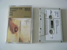 WISHBONE ASH THERE'S THE RUB CASSETTE TAPE 1974 PAPER LABEL MCA UK