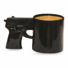 BigMouth Inc The Gun Coffee Mug, Pistol Shaped Ceramic Tea Cup NEW Free Shipping