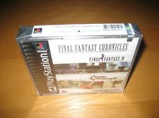 Final Fantasy Chronicles Playstation Ps1 Game Original New Sealed