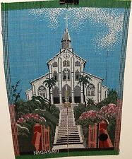 NAGASAKI JAPANESE CHURCH SILK EMBROIDERY TAPESTRY PAINTING