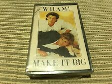 WHAM GEORGE MICHAEL SPANISH CASSETTE TAPE SPAIN - MAKE IT BIG EPIC SEALED