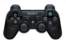 Official Sony PS3 PlayStation 3 Wireless Dualshock 3 Controller Black Genuine VG