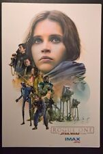Star Wars Rogue One - Exclusive Movie Poster AMC IMAX (13 x 19) No. 2 of 3