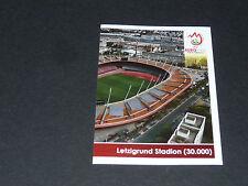 N°35 LETZIGRUND STADION ZÜRICH P2 SUISSE SCHWEIZ PANINI FOOTBALL UEFA EURO 2008