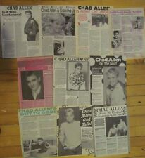 Chad Allen, Lot of TEN Full Page Vintage Clippings