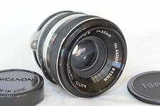 RARE AUTO TAMRON 35mm 2.8 WIDE ANGLE CAMERA LENS CANON FTb MOUNT GREAT SHAPE