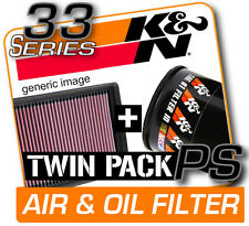 K&N Air & Oil Filter Twin Pack! AUDI TT 2.0L L4 2006-2009  [KN #33-2888]