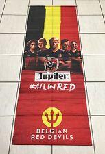 DRAPEAU FLAG BIERE BELGE BEER BIER JUPILER FOOTBALL RED DEVILS EURO 2016 FRANCE