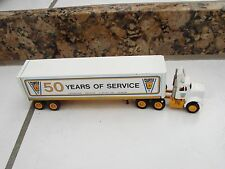 Curtis Lifts 50 Years of Service  NY Winross  Semi Truck Die-Cast toy truck