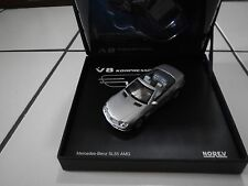 NOREV 1/43 MERCEDES BENZ SL55 AMG V8 KOMPRESSOR - SILVER - WORKING ROOF - MIB