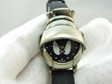 "MARVIN THE MARTIAN,Ultra RARE! ""3D Helmet"",KIDS/LADIES WATCH,702,L@@K!"