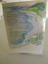 TRANSPARENT ACRYLIC PICTURE FRAME & MUSIC BOX PLAYING AMAZING GRACE