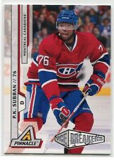 2010-11 Pinnacle 218 P. K. Subban Rookie