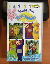 TELETUBBIES - MEET THE TELETUBBIES - VHS