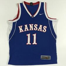 Nike Mens Elite Kansas Jayhawks Basketball Jersey Epstein #11 Medium