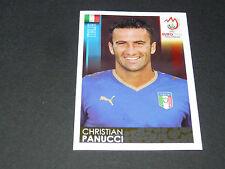 N°288 CHRISTIAN PANUCCI ITALIA ITALIE GLI AZZURRI PANINI FOOTBALL UEFA EURO 2008
