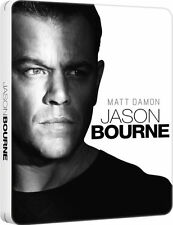 Jason Bourne Limited Edition Steelbook / DTS X Soundtrack / Region Free Blu ray