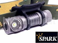 Spark SG5-NW Cree XM-L2 T5 Carbon Headlamp Tasklight Wristband Torch