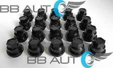 SET OF 20 NEW BLACK LUG NUT COVERS CAPS CHEVROLET S10 BLAZER GMC JIMMY SONOMA