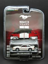 Greenlight 1/64 1987 Ford Mustang GT _ Mustang 50th Anniversary
