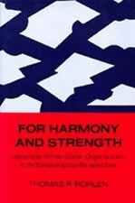 For Harmony and Strength: Japanese White-Collar Organization in Anthro-ExLibrary