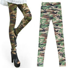 Fashion Women's Camouflage Leggings  Army Military Trousers Leggings