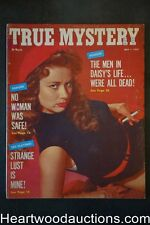 True Mystery May 1957 Bad Girl cover / Billy Rupp story