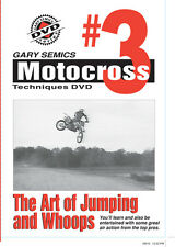 Motocross MX How To Jumping Technique DVD #3 from Volume 1 by Gary Semics