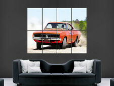DUKES OF HAZZARD DODGE CHARGER  GIANT WALL POSTER ART PICTURE PRINT