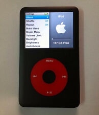 iPod classic 7th Generation U2 Special Edition 128GB SSD Memory 1800mAh Battery