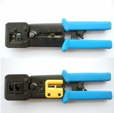 NEW EZ RJ45 EZ-RJ45 PRO HD CRIMP TOOL & WIRE STRIPPER FOR EZ RJ45 CONNECTORS