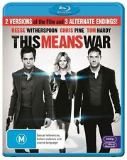 This Means War - New/Sealed Blu Ray Region B