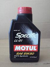 OLIO MOTUL  BMW MINI LONGLIFE LL-01  SAE 5W30 100% SINTETICO