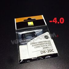 Nikon DK-20C Diopter-Adjustment -4 Eyepiece Correction Lens for D7000 D5000 FE10