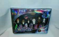 ☆ NEW RARE HARRY POTTER LIMITED EDITION PEZ CANDY DISPENSER:  6 PACK F/SHIPPING