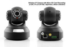 IP CAM CAMERA TELECAMERA WIRELESS WIFI INFRAROSSI MOTORIZZATA IPCAM REGISTRA SD