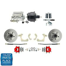 "1955-58 GM Disc Brakes W/ 8"" Dual Powder Coated / Aluminum Conversion Kit 712R"