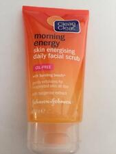 ** CLEAN & CLEAR MORNING ENERGY DAILY FACIAL SCRUB WITH TANGERINE EXTRACT NEW*