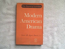 MODERN AMERICAN DRAMA BY SISTER M. ANGES DAVID